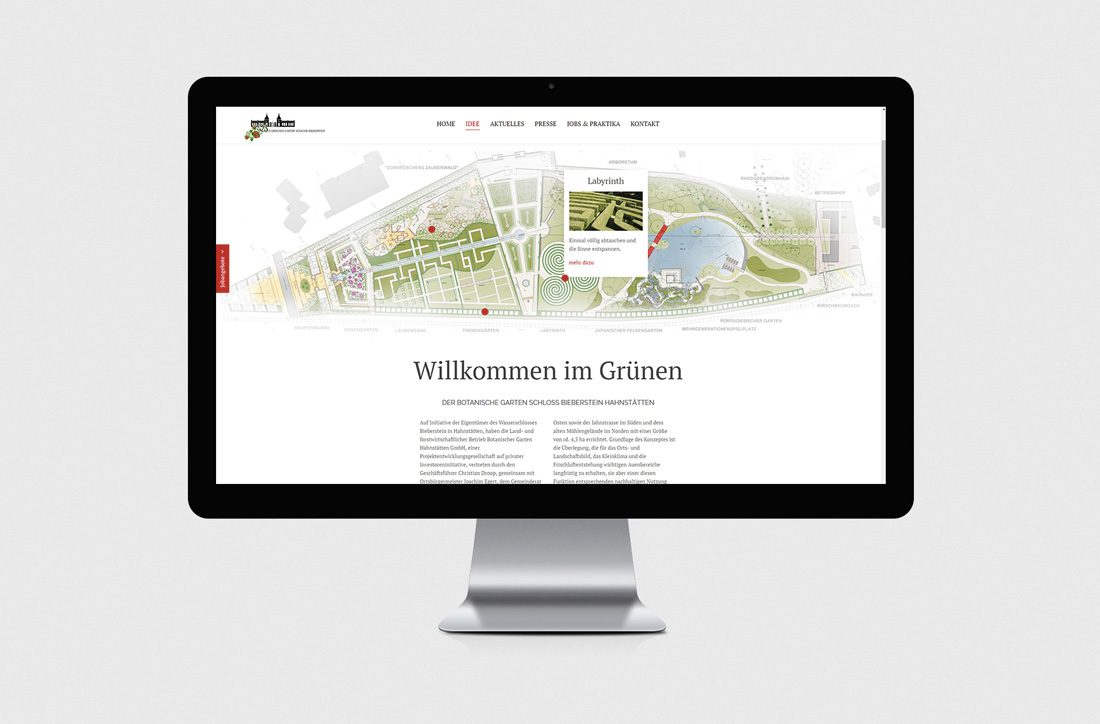 Webseitenerstellung, Website 2