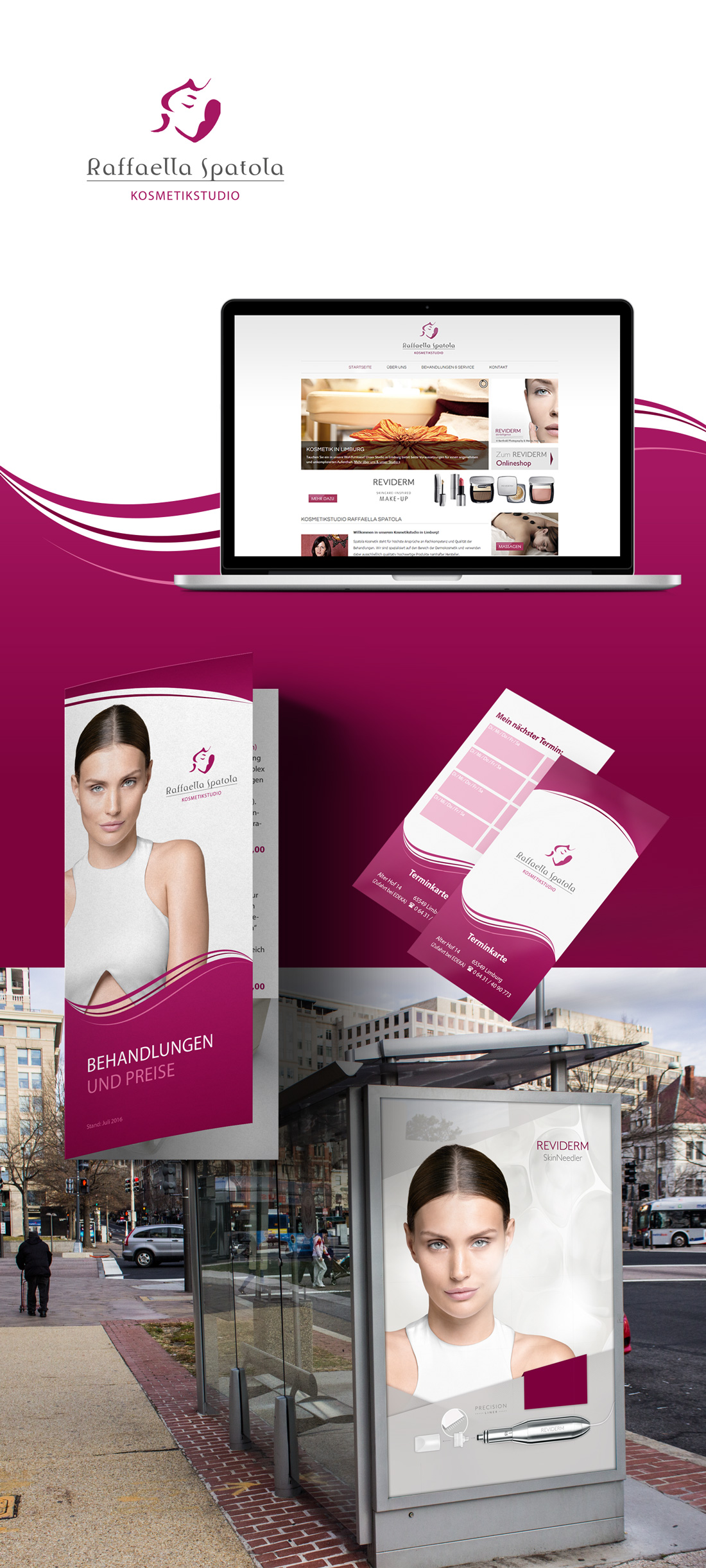 Logo, Corporate Design und Webdesign